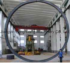 Material 4145 Big Size Forged Cylinder Hot Forging pictures & photos