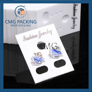 Clear PVC Plastic Jewelry Earring Display Cards pictures & photos