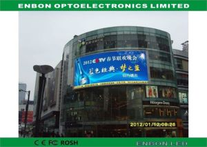 P6 Full Color Outdoor Advertising LED Display Board on Wall pictures & photos
