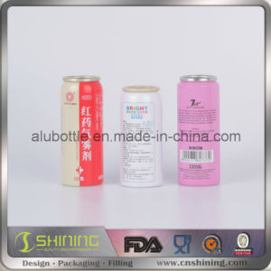 Aluminum Body Spray Aerosol Can