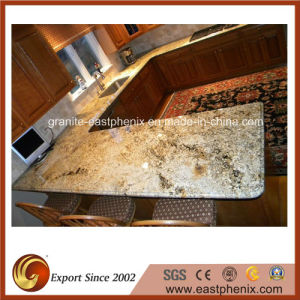 Natural Namibian Gold Granite Countertop for Kitchen/Worktop