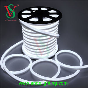 Professional Landscape White LED Neon Flex Rope Lights