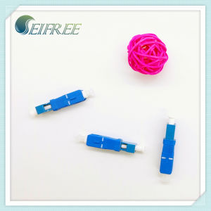 Female LC to Male Sc Adapter Fiber Optic Hybrid Adaptor pictures & photos