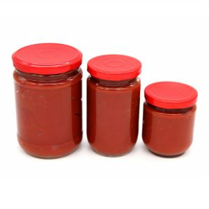 Tomato Paste in Glass Jar with High Quality pictures & photos