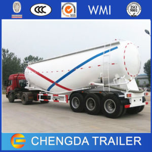 3 Axles 50 M3 Powder Cement Bulker Trailer pictures & photos
