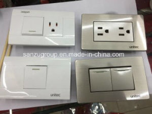 New Design American Electrical Wall Switch Socket pictures & photos