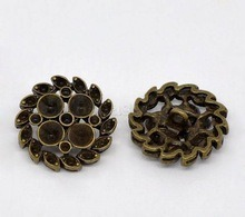 24mm Metal Rhinestone Sewing Button pictures & photos
