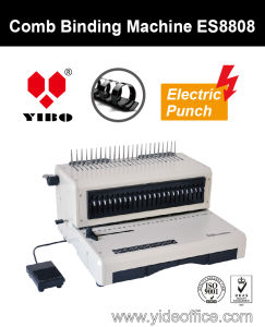 F4 Size Electric Comb Binding Machine (ES8808) pictures & photos