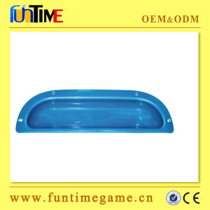 D Shape Metal & Plastic Coin Tray