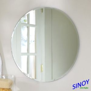 Sliver Mirror Glass Round 4mm Clearr Sliver Coated Mirror Glass pictures & photos