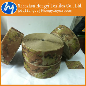 Military Uniform Camouflage Nylon Hook and Loop Tape pictures & photos
