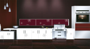 Popular Kitchen Furniture Wooden Cabinet (ZH9634) pictures & photos