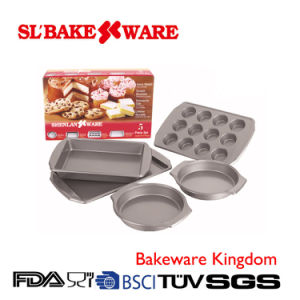 5PCS Bake Set Carbon Steel Nonstick Bakeware (SL-Bakeware)