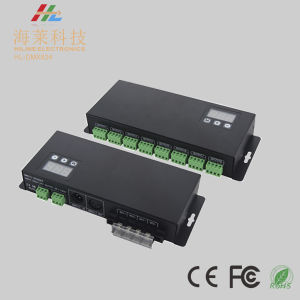 12-24VDC 3A*24CH Constant Voltage LED DMX512 Universal Driver pictures & photos