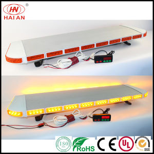 Ultra Thin Amber LED Low-Profile Slim Emergency Lightbar Ambulance Fire Engine Police Car Lightbar Use The Police Car to Open up The Road pictures & photos