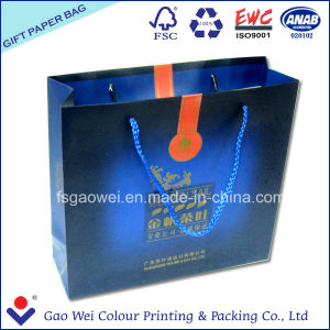 Printed Paper Shopping Bag for Tea pictures & photos