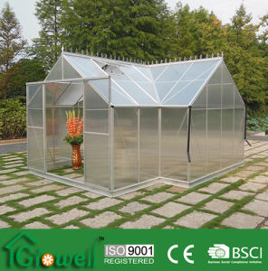 Growell 6mm Polycarbonate Orangery Greenhouse -- T8 pictures & photos