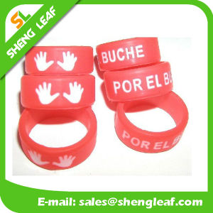 Promotional Items Silicone Rubber Finger Ring (SLF-SR026)