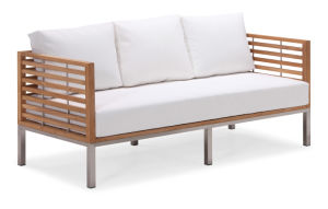 Phenomenal China Teak Outdoor Patio Sofa Set With Stainless Steel Legs Pdpeps Interior Chair Design Pdpepsorg