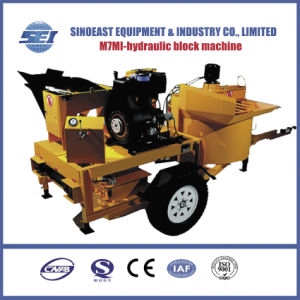 Twin Moulds Mobile Clay Brick Machine (M7MI) pictures & photos