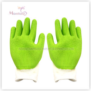 13gauge Foam Latex Palm Coated/Dipped Polyester Work Safety Gloves pictures & photos