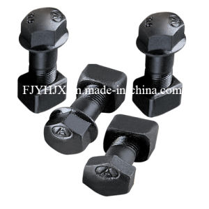 High-Strength Track Bolts with Nuts/Undercarriage Bolts/Roller  Bolts/Sprocket Bolts