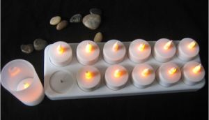12 Battery LED Tealight Candles pictures & photos