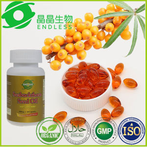 GMP Certified OEM Seabuckthorn Seed Oil Softgel pictures & photos