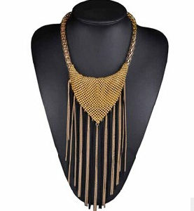Long Tassel Chain Antique Plating Necklace (XJW13711) pictures & photos