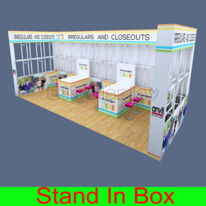 Design Clothing Custom Portable Modular Trade Show Exhibition Display Booth pictures & photos