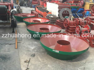 1200A Wet Pan Mill, Gold Ore Grinding Wet Pan Mills, Gold Stone Mill Machine pictures & photos