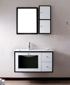 Prefabricated PVC Bathroom Cabinet, Chinese Bathroom Vanity Furniture pictures & photos