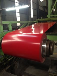 Red Color in Stock PPGI Steel Sheet Factory