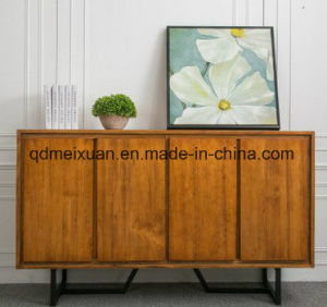 American industrial equipment eat tank rust to restore ancient ways of ark of quality solid wood cabinet table Wrought iron do old multi-function ambry(M-X3482) pictures & photos