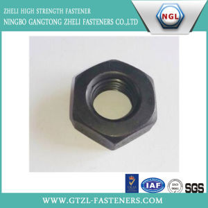 DIN934 Hexgon Head Nuts with Black pictures & photos
