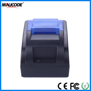 Cheap Price 58mm USB/Bluetooth Compact Thermal Receipt Printer, Three Color Panels Optional, USB or Bluetoth Connectivity Is Available, Mj-H58