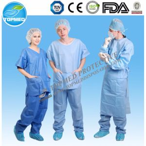 Hopspital Medical Scrubs Suits 2 Pieces Uniform pictures & photos