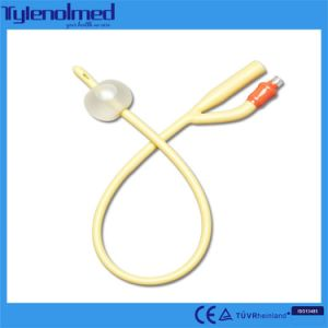Single Use Latex 2 Way Foley Balloon Catheter pictures & photos