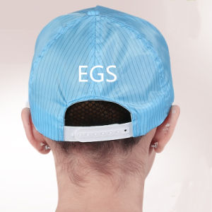 Blue/White/Pink ESD Fashion Baseball Work Caps pictures & photos