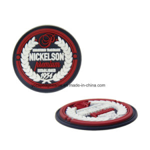 3D PVC Morale Tactical Soft Rubber Patch