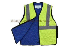 High Quality Safety Vest with Reflective Stripes Cooling Vest