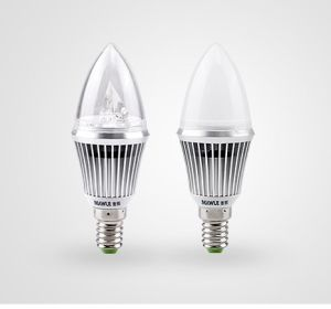 Special E14 SMD Ceramic LED Candle Light, Tailed Shape E27 LED Candle (MQ-CL3W-007)