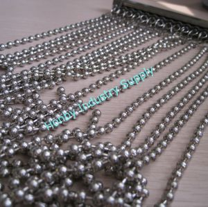 Honby 6mm Vertical Metal Ball Chain Curtain