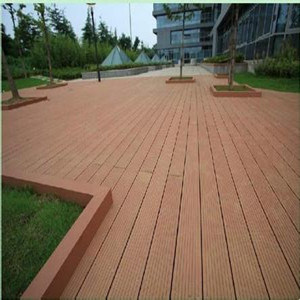 New Welcome Waterproof Baochu WPC Decking for Green Building Material