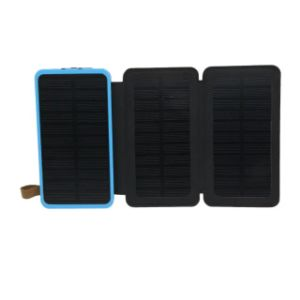 Short Charging Time Solar Mobile Phone Power Bank Charger with Big Solar Panel pictures & photos