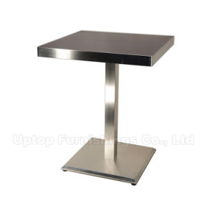 Wholesale Steel Edge Square Cafe Table for Restaurant (SP-RT192) pictures & photos