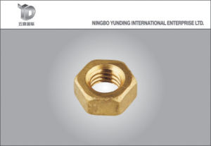 Hex Flange Nut Zinc Plated, Hex Nut with Flange pictures & photos