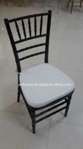 Polycarbonate Resin Chiavari Chair with Cushion for Wedding/Party/Event pictures & photos