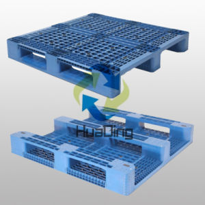 Transport Heavy Duty Plastic Pallet Manufacturing with HDPE From China pictures & photos