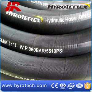High Pressure Rubber Hydraulic Hose SAE100 R9/DIN En856 4sp pictures & photos
